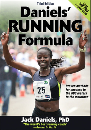 photo of Daniels' Running Formula Book
